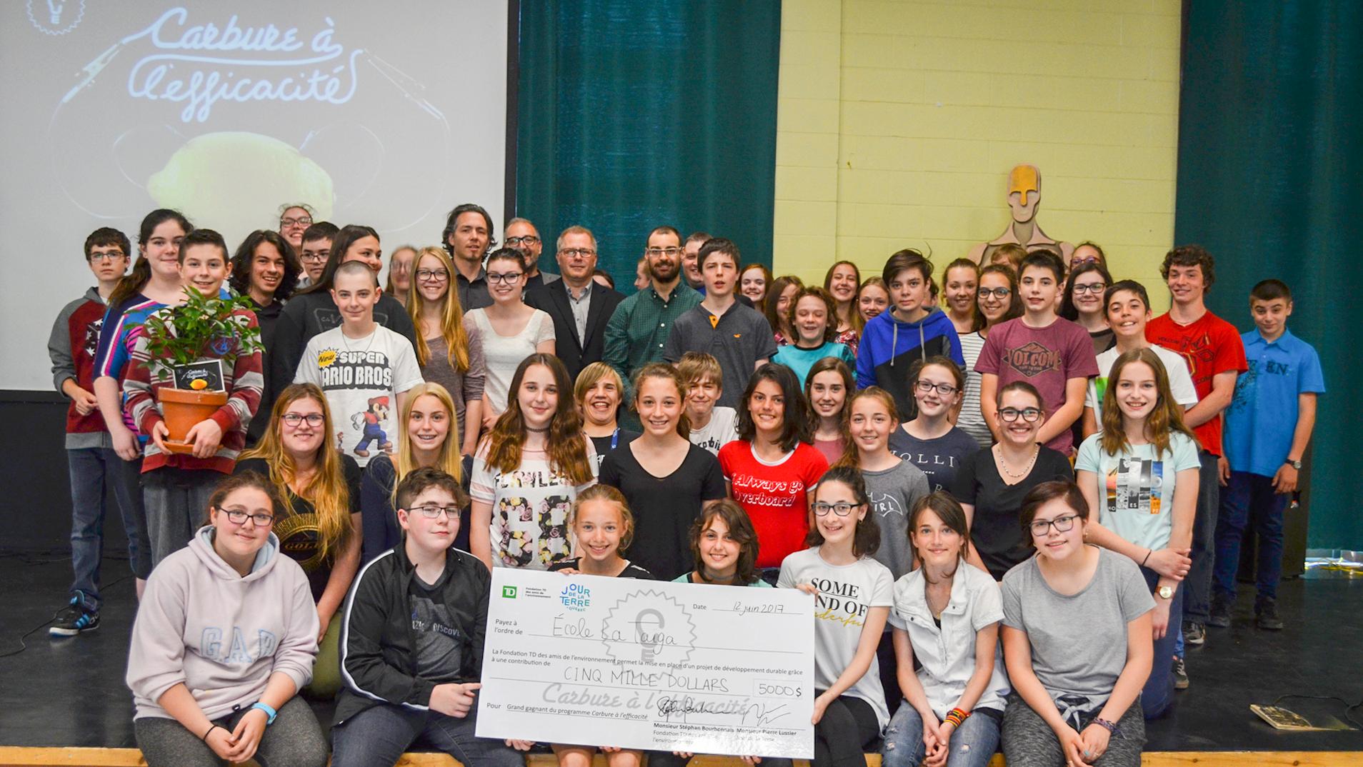 École gagnante 2017 : La Taïga